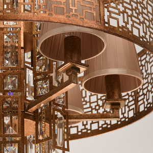 Hanging lamp Morocco Loft 10 Copper - 185010310 small 12