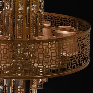 Hanging lamp Morocco Loft 10 Copper - 185010310 small 2