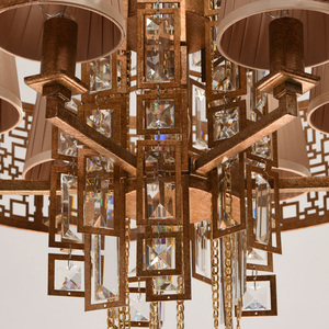 Hanging lamp Morocco Loft 10 Copper - 185010310 small 3