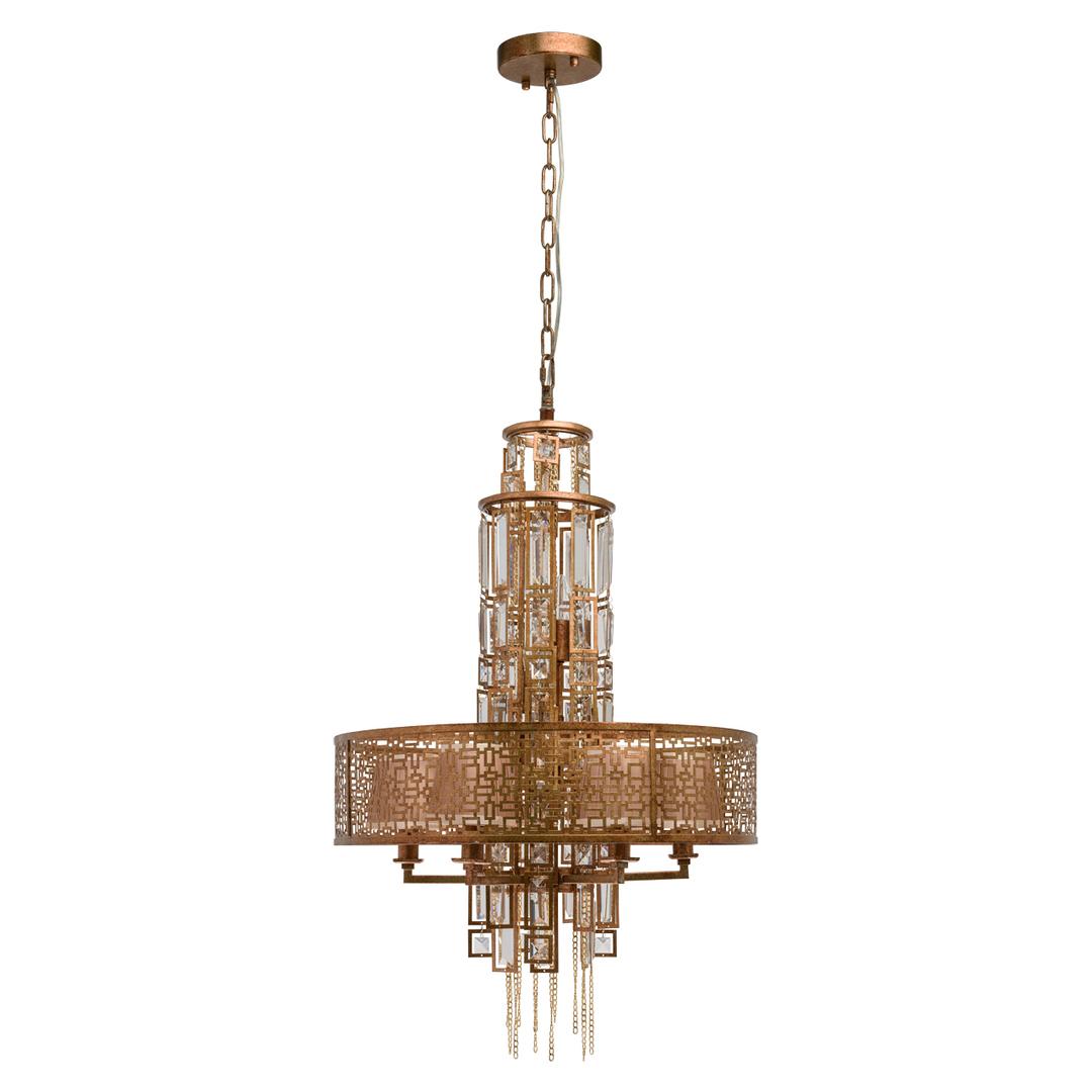 Hanging lamp Morocco Loft 10 Copper - 185010310