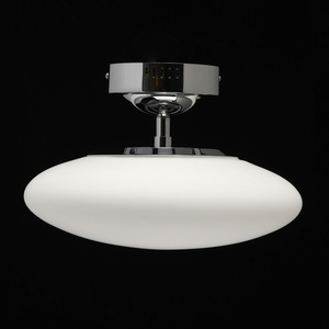 Eris Hi-Tech 1 Chrome pendant lamp - 706010401 small 2