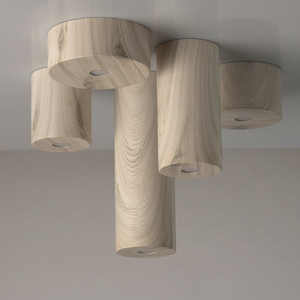 Hanging lamp Ylang Techno 1 Beige - 712010601 small 7