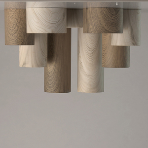 Hanging lamp Ylang Techno 1 Beige - 712010601 small 9