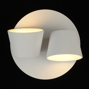 Wall lamp Hartwig Techno 2 White - 717020802 small 1