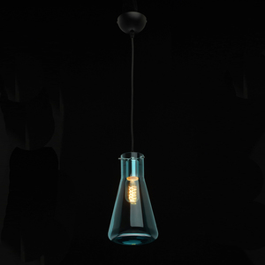Hanging lamp Chianti Megapolis 1 Black - 720010601 small 1