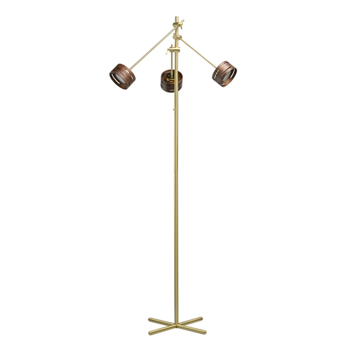 Chill-out Hi-Tech 3 Floor Lamp Gold - 725040803
