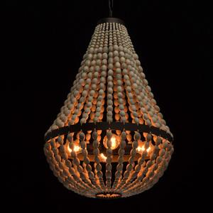 Hanging lamp Loft 4 Beige - 679010704 small 1