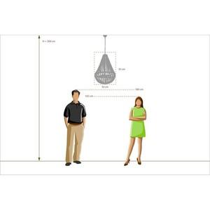 Hanging lamp Loft 4 Beige - 679010704 small 6