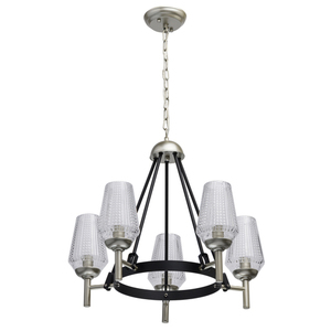 Hanging lamp Alghero Classic 5 Silver - 285011305 small 0