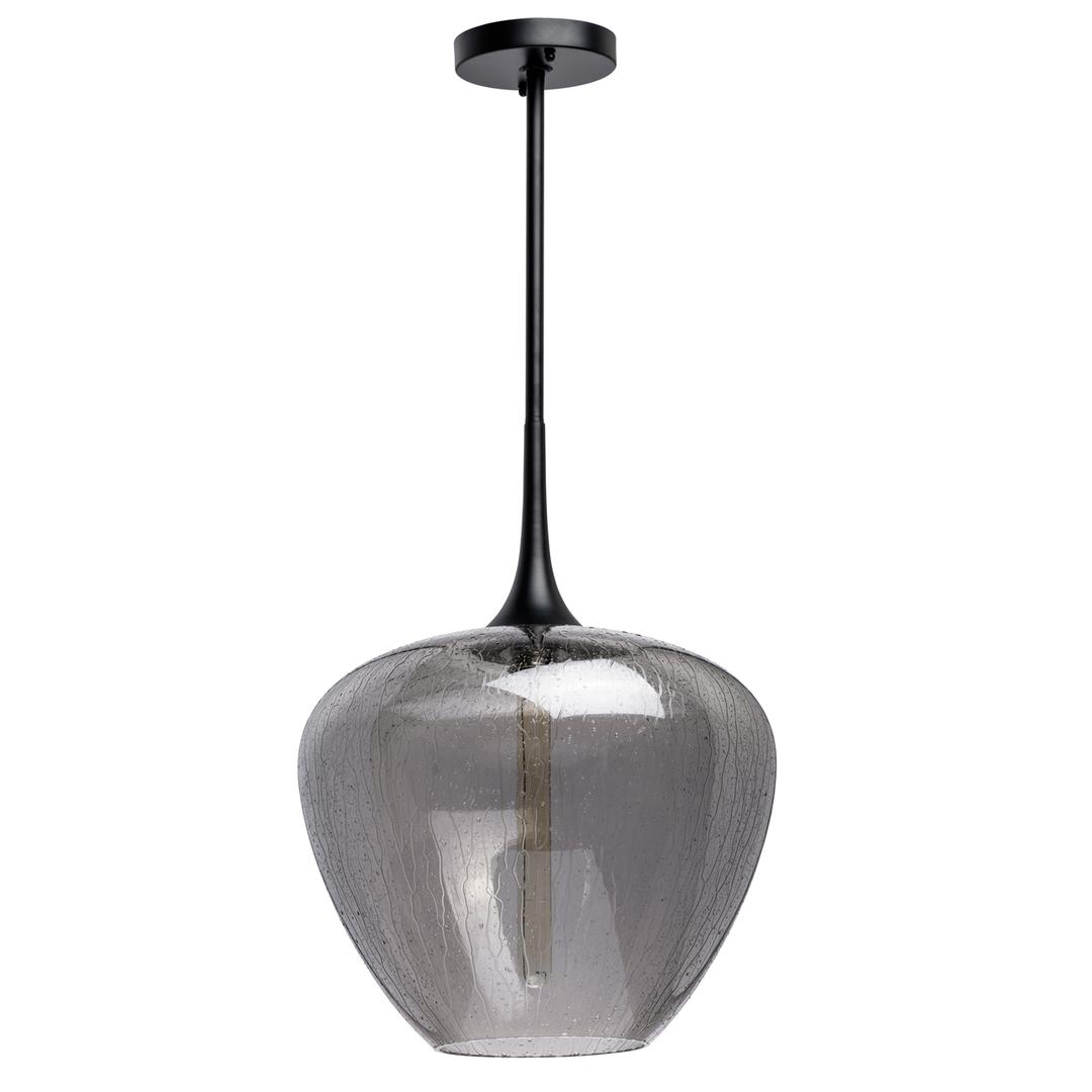 Hanging lamp Bremen Megapolis 1 Black - 606011401