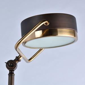 Hamburg Loft 1 Floor Lamp Brass - 605041601 small 3