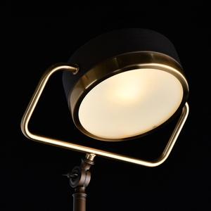 Hamburg Loft 1 Floor Lamp Brass - 605041601 small 4