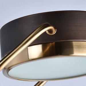 Hamburg Loft 1 Floor Lamp Brass - 605041601 small 6