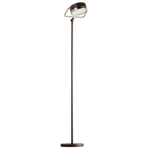Hamburg Loft 1 Floor Lamp Brass - 605041601 small 0