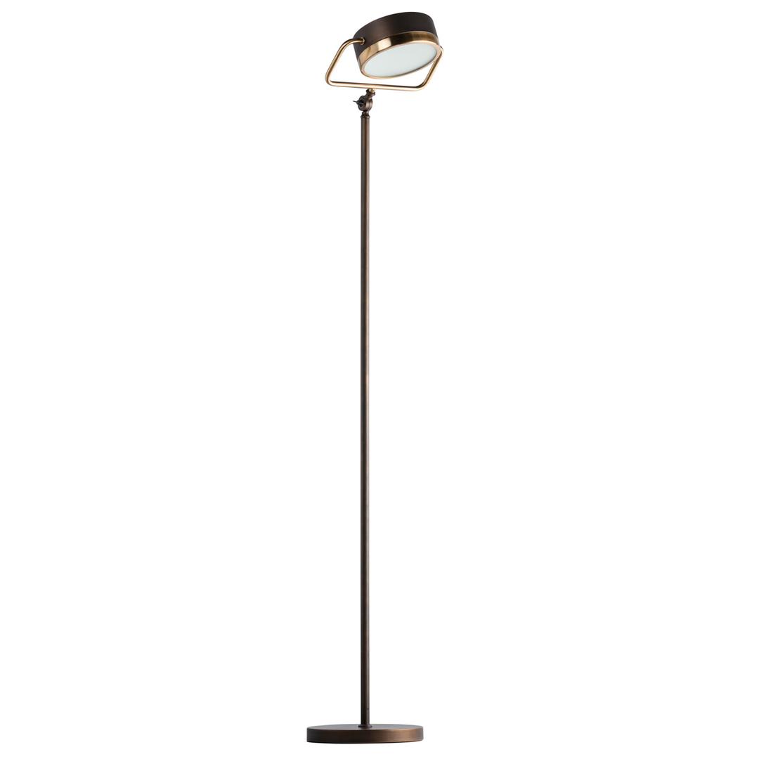 Hamburg Loft 1 Floor Lamp Brass - 605041601