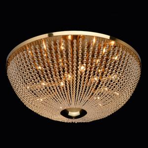 Hanging lamp Venezia Crystal 15 Brass - 111012815 small 1