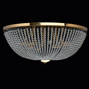 Hanging lamp Venezia Crystal 15 Brass - 111012815 small 4