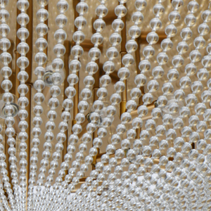 Hanging lamp Venezia Crystal 15 Brass - 111012815 small 5