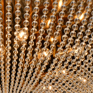 Hanging lamp Venezia Crystal 15 Brass - 111012815 small 6