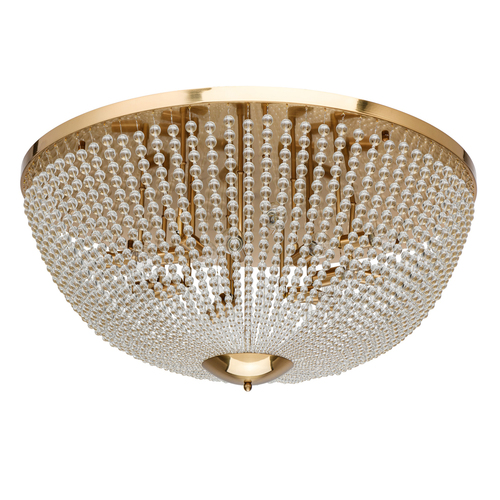 Hanging lamp Venezia Crystal 15 Brass - 111012815