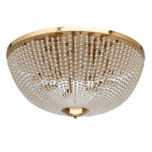 Venezia Crystal 15 Brass Ceiling Lamp - 111012815