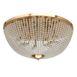 Hanging lamp Venezia Crystal 15 Brass - 111012815 small 0