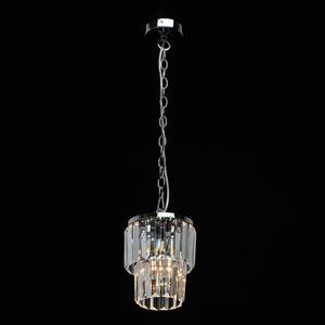 Pendant lamp Adelard Crystal 1 Chrome - 642014201 small 1