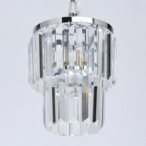 Pendant lamp Adelard Crystal 1 Chrome - 642014201 small 2