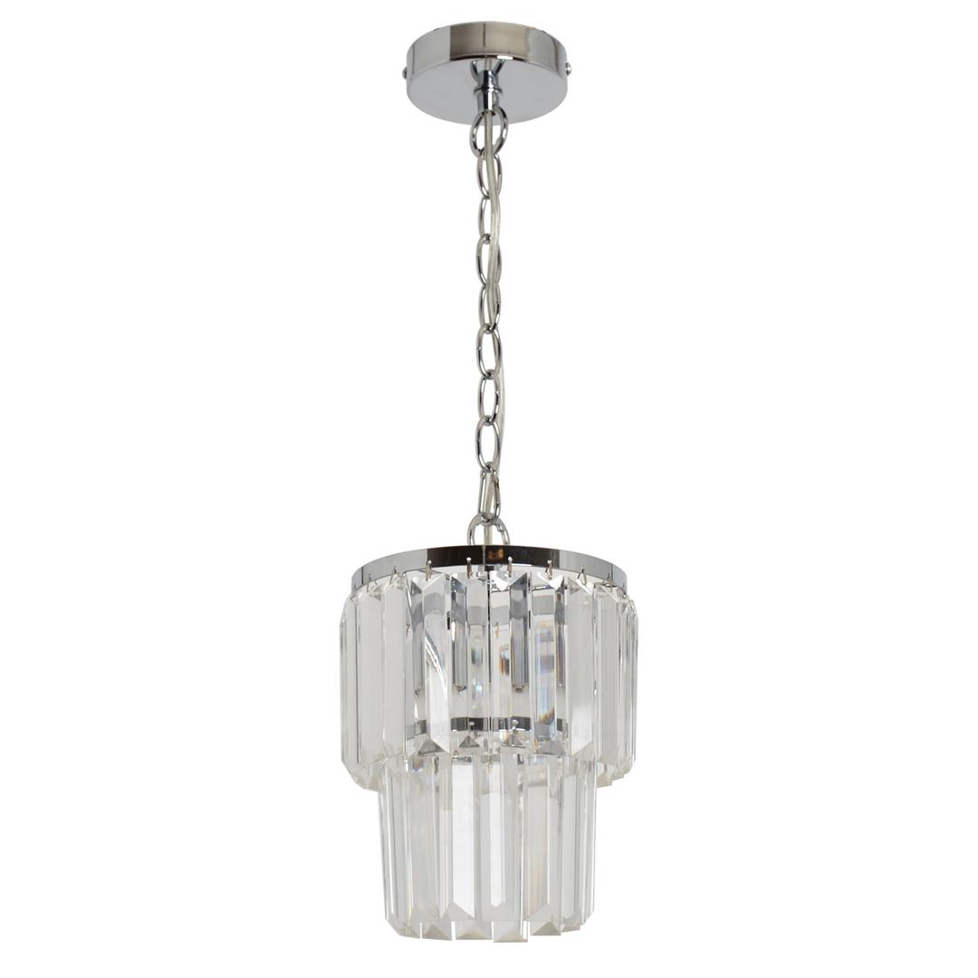 Pendant lamp Adelard Crystal 1 Chrome - 642014201