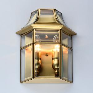 Wall lamp Corso Street 2 Brass - 802021802 small 2