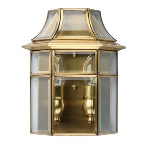 Wall lamp Corso Street 2 Brass - 802021802 small 0