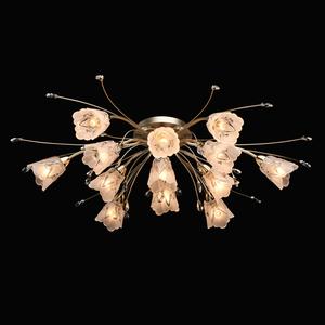 Hanging lamp Amelia Flora 13 Gold - 294016213 small 1