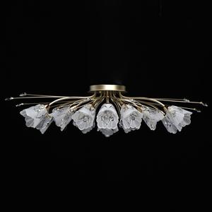 Hanging lamp Amelia Flora 13 Gold - 294016213 small 3