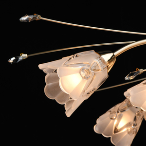Hanging lamp Amelia Flora 13 Gold - 294016213 small 5