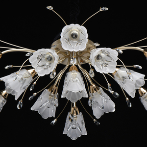 Hanging lamp Amelia Flora 13 Gold - 294016213 small 9