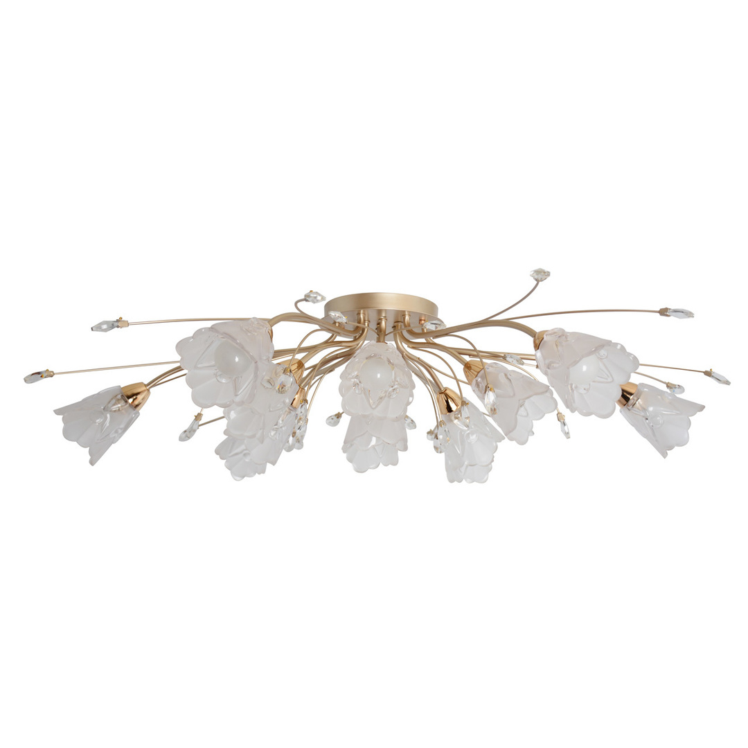 Hanging lamp Amelia Flora 13 Gold - 294016213