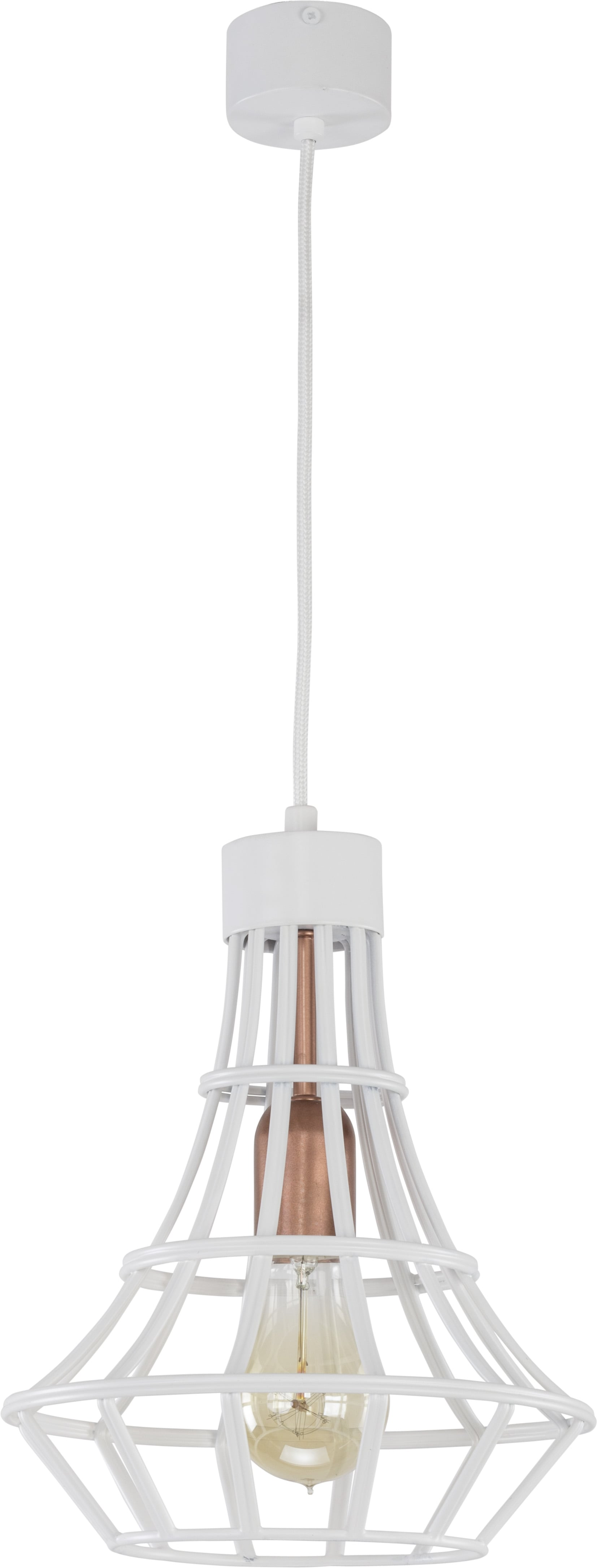 Hanging lamp System Drop S White E27 1 x 60W