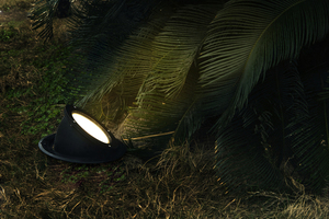 Outdoor lamp recessed into the ground Lutec ARCTIC small 1