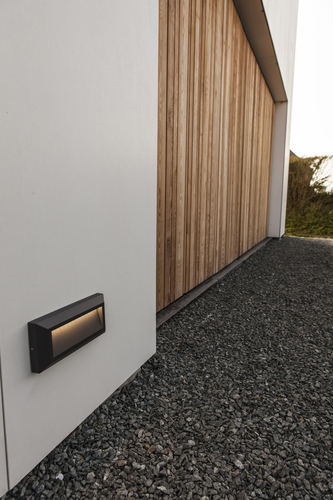 Outdoor wall lamp built into the wall Lutec HELENA