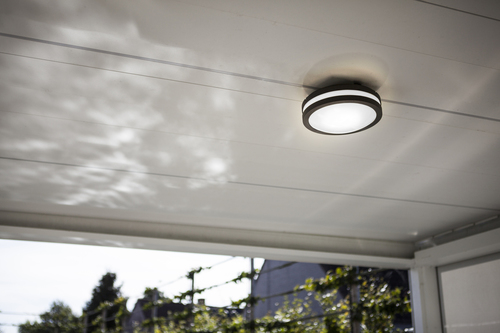 Lutec TITAN outdoor ceiling lamp