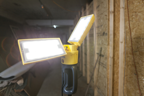 Outdoor Led lamp on an adjustable Lutec PERI stand