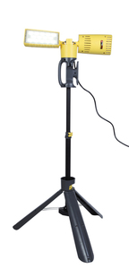 Outdoor Led lamp on an adjustable Lutec PERI stand small 0