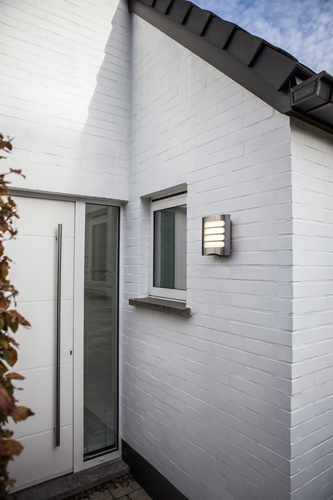 Outdoor wall lamp with motion sensor Lutec FARELL