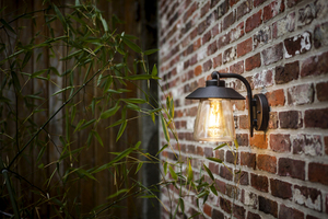 Lutec CATE outdoor wall sconce small 1