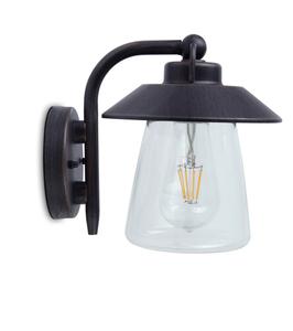 Lutec CATE outdoor wall sconce small 0