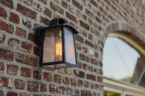 Industrial outdoor wall lamp Lutec KELSEY