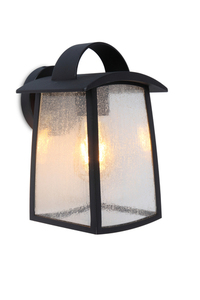 Industrial outdoor wall lamp Lutec KELSEY small 0