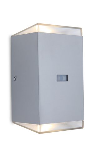Outdoor wall lamp with motion sensor Lutec PATH