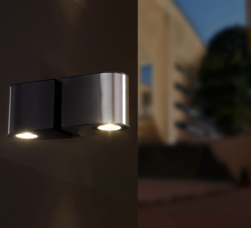 Lutec GEMINI outdoor wall lamp