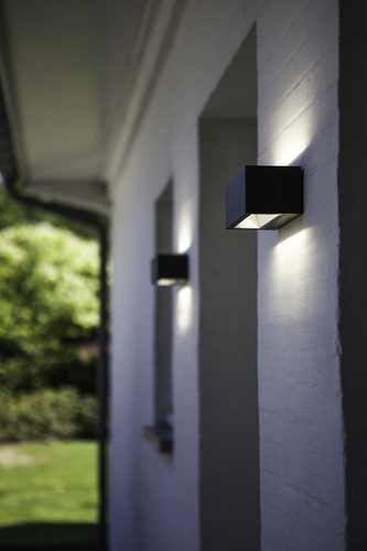 Modern Lutec GEMINI outdoor wall lamp